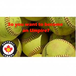 Why Umpire Softball